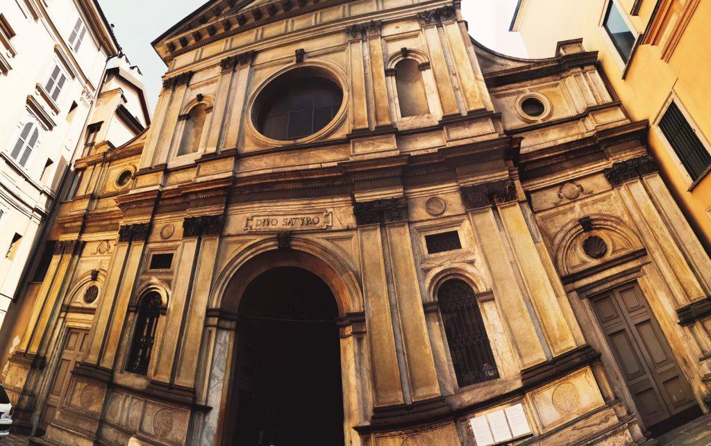Iglesia San Satiro, Milán