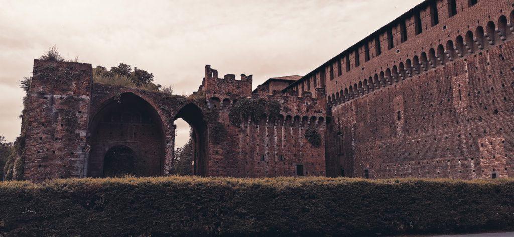Ruinas del viejo castillo