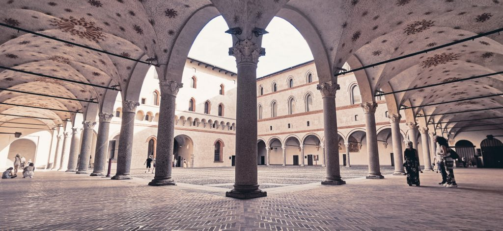 La Rocchetta, el viejo castillo visconteo