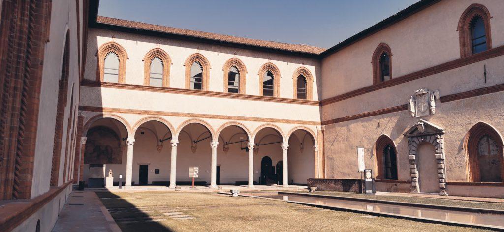 La corte ducal del Castello Sforzesco