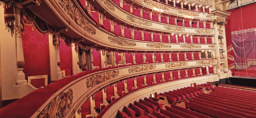 Palcos teatro de La Scala