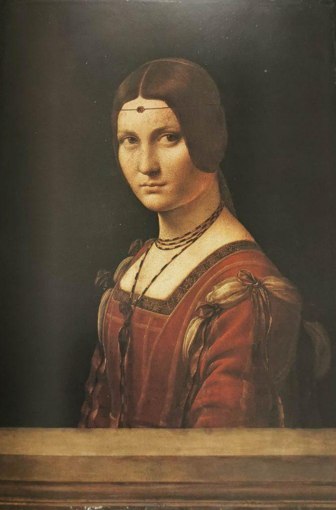 La Belle Ferronnière, Leonardo Da Vinci, Museo del Louvre, París