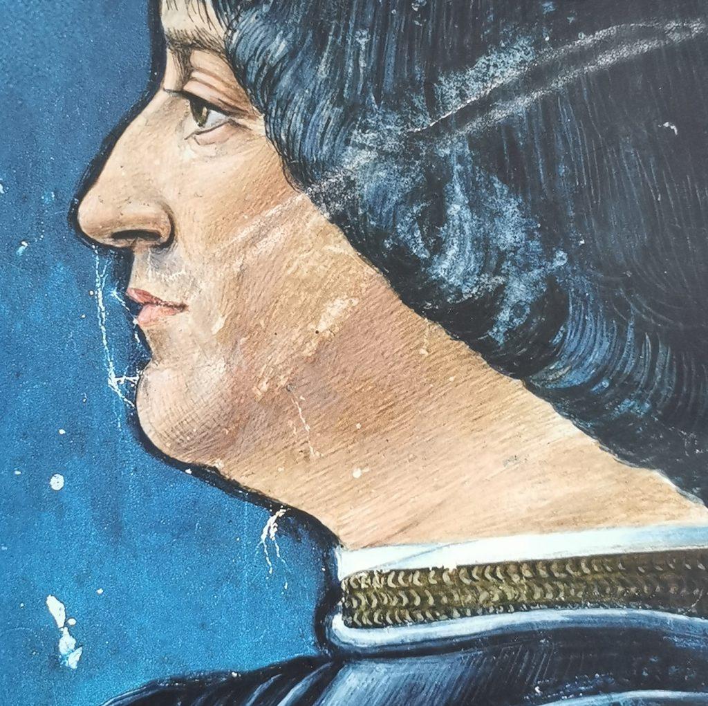 Retrato de Ludovico el Moro, Castillo Sforzesco