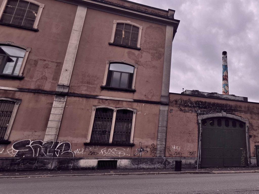 Fábrica de Fernet Branca en Milán
