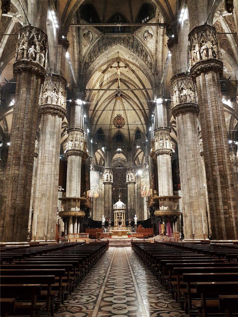 El Duomo de Milán por dentro