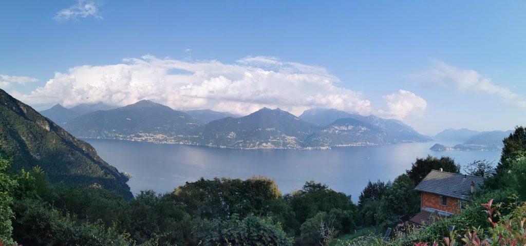Panorámica del Lago de Como