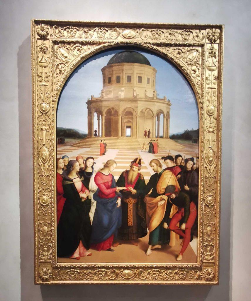 Sposalizio della Vergine (di Raffaello)