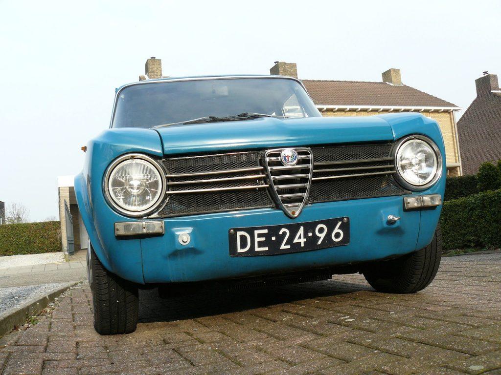 Alfa romeo, autos antiguos