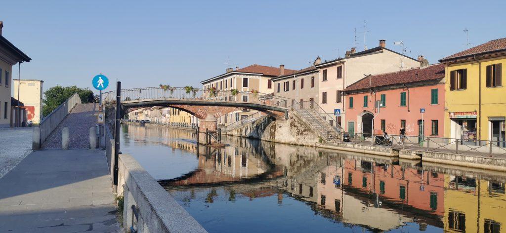 Trezzano sul Naviglio y el Naviglio Grande.
