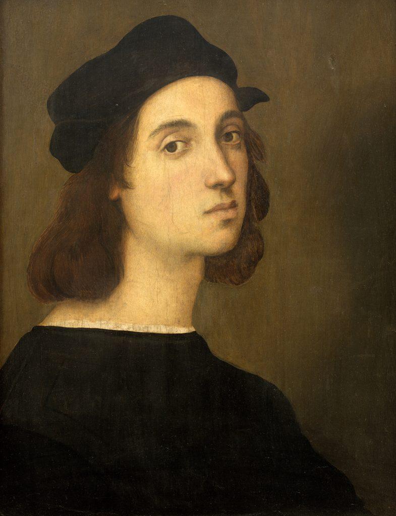 Raffaello Sanzio, Autorretrato