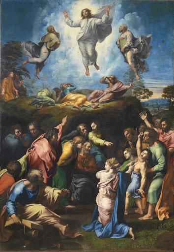 La Transfiguración, Rafael