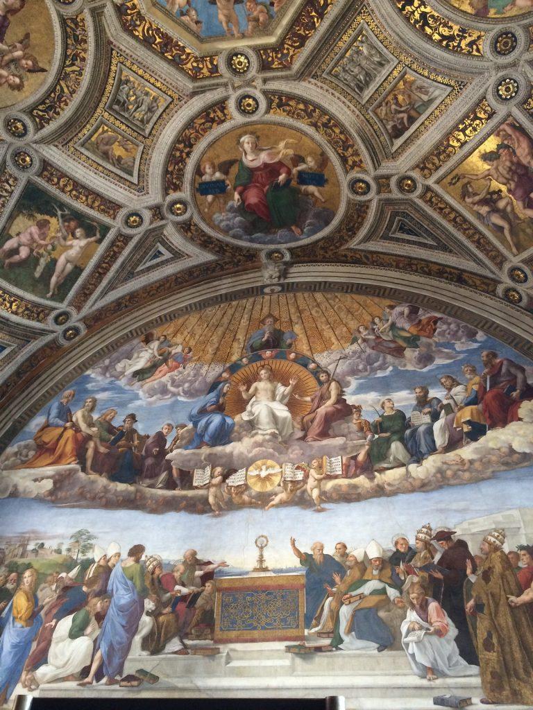Stanza della Segnatura , Museos Vaticanos