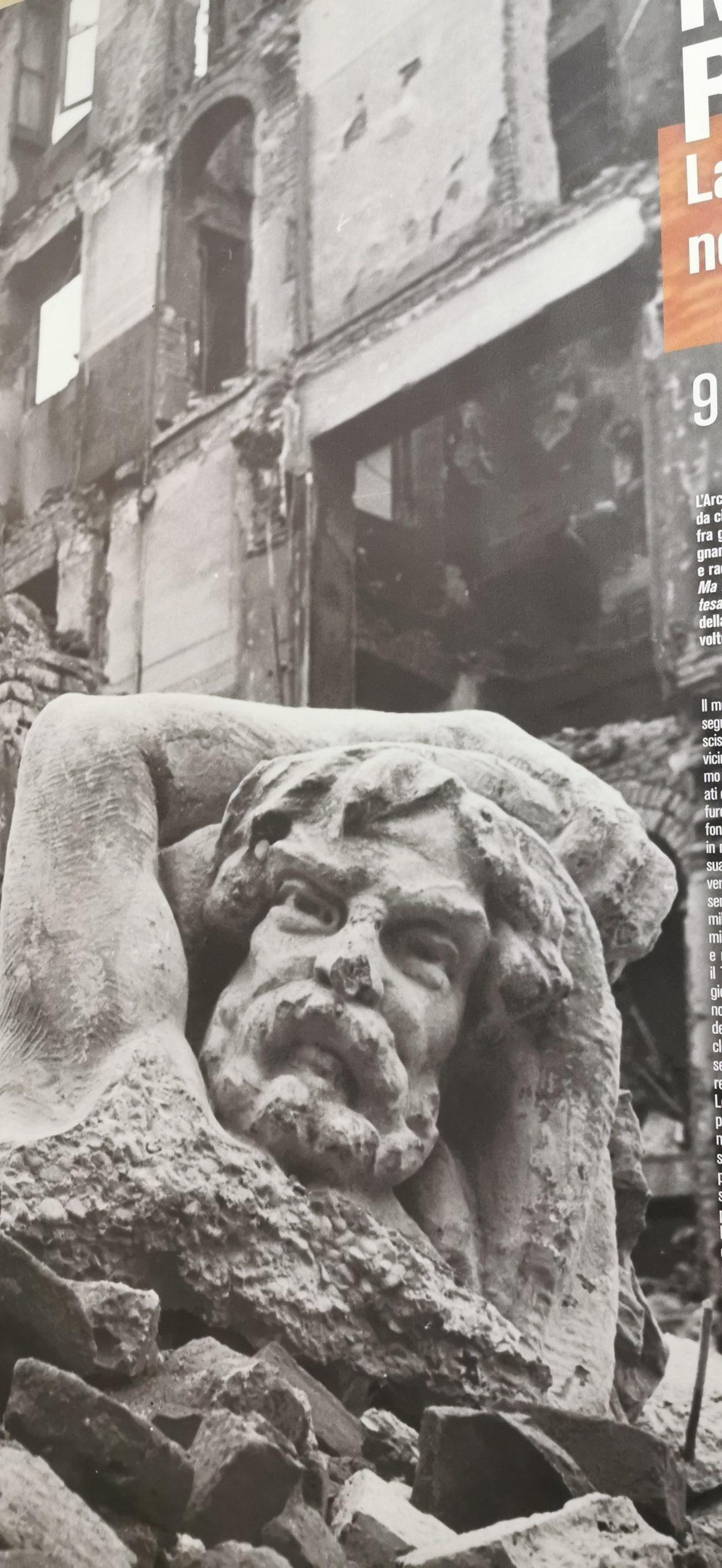 Las fotos más impactantes del bombardeo sobre Milán en el '43